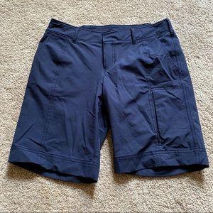 Athleta navy shorts